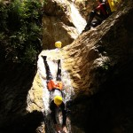 ...CANYONING to slide down..