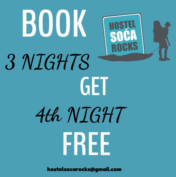 get 4th night free